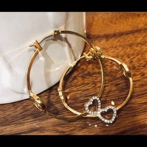 Juicy Couture Jewelry - Juicy Couture Hoop Earrings